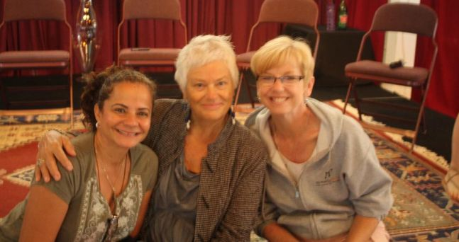 With my incredible master teachers; Rhiannon and Judy at 2012 Omega Institute
