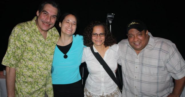 With Dave Valentin and Richie