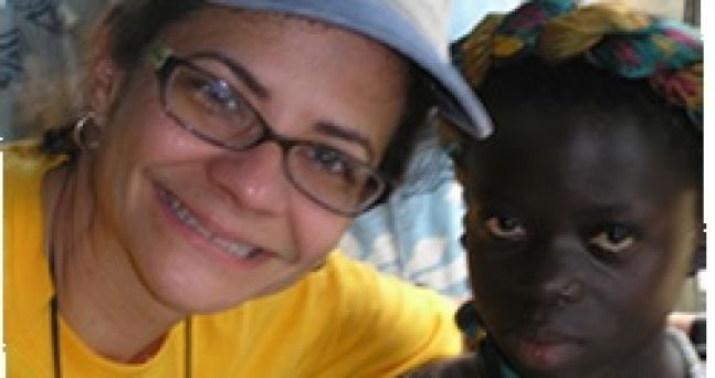 My new friend in the village of Adarkwa in Suhum, West Ghana 2006