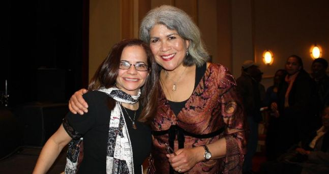 With one of my piano mentors Sumi Tonooka after our John Blake's concert at the Baby Grand in Wilmington Delaware