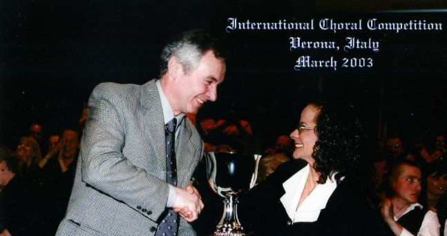 2003 Gold Cup choral completion in Verona, Italy