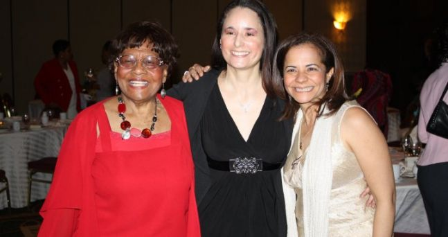 Former Mayor Faison, Karen Rodriguez . singer and me! At the 2010 Philadanco awards honoring Mayor Faison, Ms. Sydney King and myself for our contribution in the arts in Philadelphia, Delawre and New Jersey.