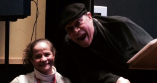 With Al Jarreau at the Clef Club, Philadelphia